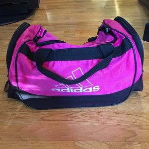 ADIDAS pink gym bag!